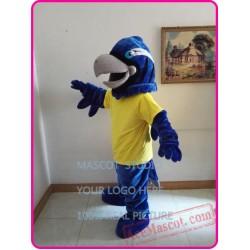 Blue Eagle Mascot Hawk / Falcon Mascot Costume