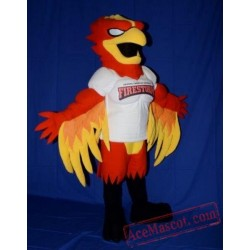 Fire Eagle Mascot Costume