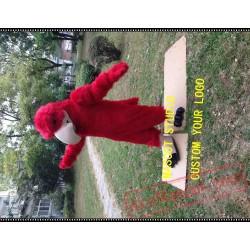 Red Eagle Mascot Costume Falcon / Hawk
