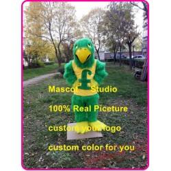 Green Falcon Mascot Costume Plush Hawk / Eagle Mascot
