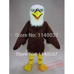 Plush Eagle Mascot Costume