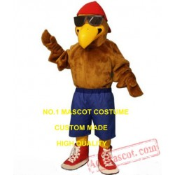 Cool Eagle Mascot Costume Adult Falcon Hawk Mascot