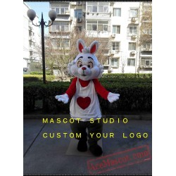 Alice Rabbit Mascot Costume Bunny