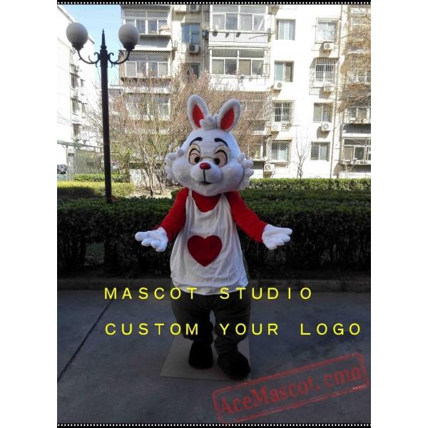 Alice Rabbit Mascot Costume Bunny