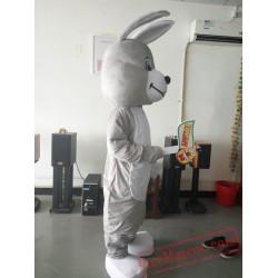 Gray Easter Bunny Rabbit Mascot Costume