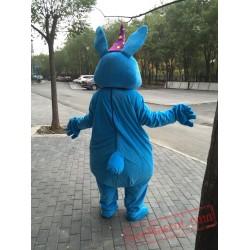Blue Magic  Rabbit  Mascot Costume