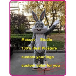 Easter Bunny Mascot Costume Easter Bugs Rabbit