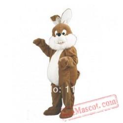 Easter Fat Bunny Rabbit Mascot Costume