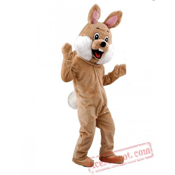 Brown Rabbit  Mascot  Costume