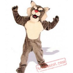 Brown Bengal Tiger Mascot Costume