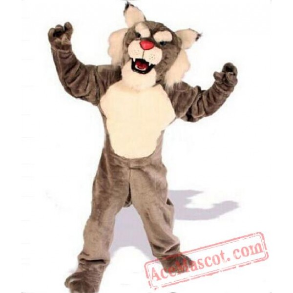 Brown Bengal Tiger Mascot Costume