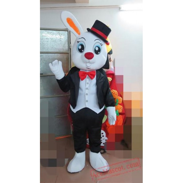 Animal Plush Rabbit Mascot Costume