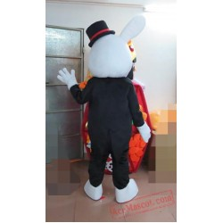 Animal Plush Rabbit Mascot Costume