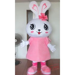 Big Pink Rabbit Mascot Costumes