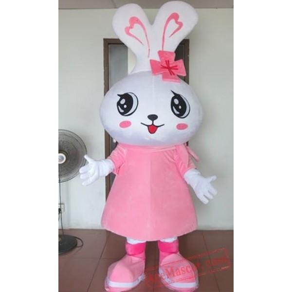 Big Pink Rabbit Mascot Costumes