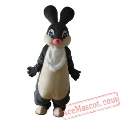 Black Easter Bunny Rabbit Mascot Costume