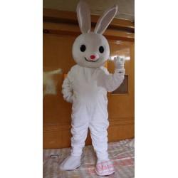 White Bunny Rabbit  Mascot Costume