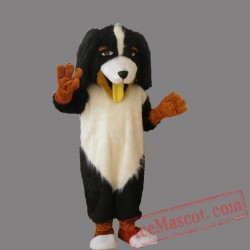 Black White Dog Mascot Costumes