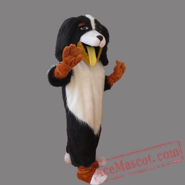 Black White Dog Mascot Costumes