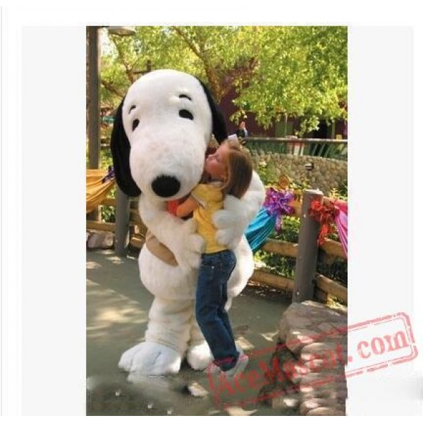 Adult Snoopy Dog Mascot Costume