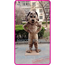 Brown Dog Mascot Costume