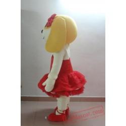Dog Mascot Costume for Adults