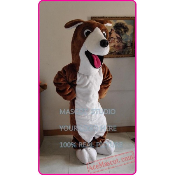 Black Beagle Dog Mascot Costume