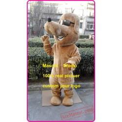 Glass Dog Mascot Costume