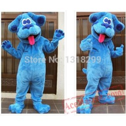 Blue Clues Dog Mascot Costume