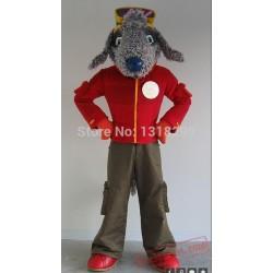 Freddie Bedlington Dog Mascot Costume