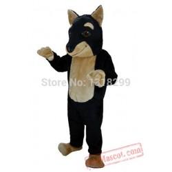 Doberman Dog Mascot Costume