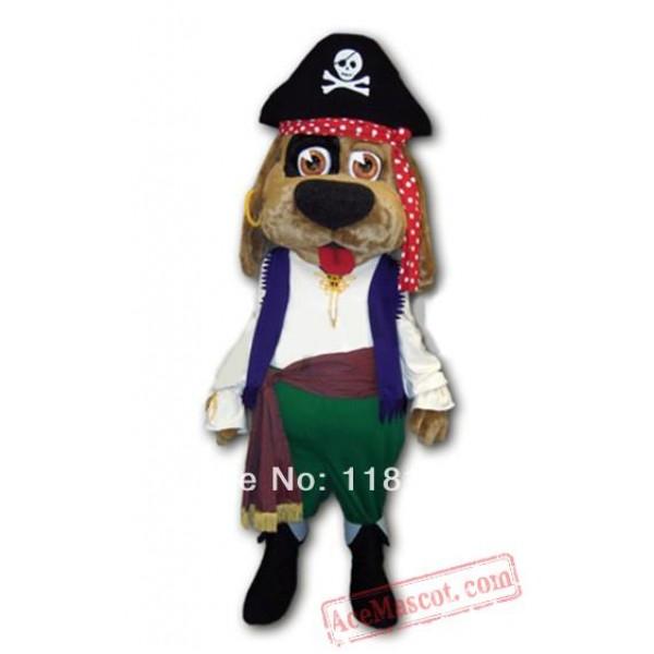 Deluxe Pirate Dog Mascot Costume