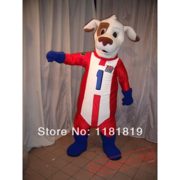 Dash Dog Mascot Costume