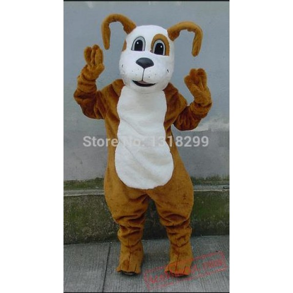 Digger Dog Mascot Costume