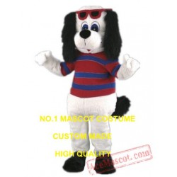 Bernard Dog Mascot Costume