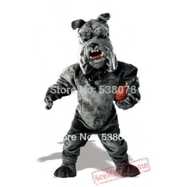 Bully Bulldog Mascot Costume Professional