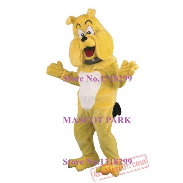 Bulldog Mascot Costume With Collar