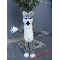 Grey Wolf Mascot Costumes for Adult