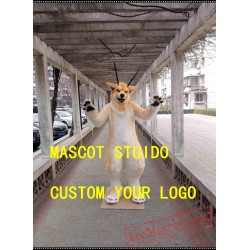 Wolf Fursuit Husky Dog Mascot Costume