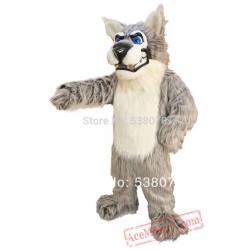 Alpha Wolf Mascot Costume