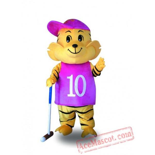 Adult Tiger Mascot Costume