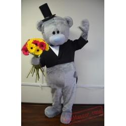 Wedding Teddy Bear Mascot Costumes