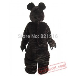 Bear  Mascot Costume Dark Brown
