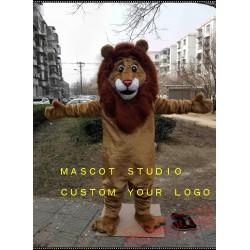 Cute Lion Mascot Costume