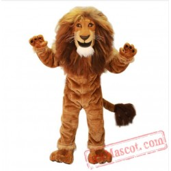 Power Lion King Mascot Costume