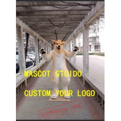 Husky Fox Fursuit Mascot Costume for Sale