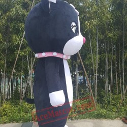 Black Cat Mascot Costume