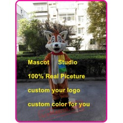 Cartoon Fox Mascot Costume