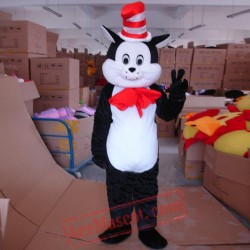 Dr. Seuss The Cat In The Hat Mascot Costume