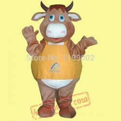 Bull Ox Cow Mascot Costume